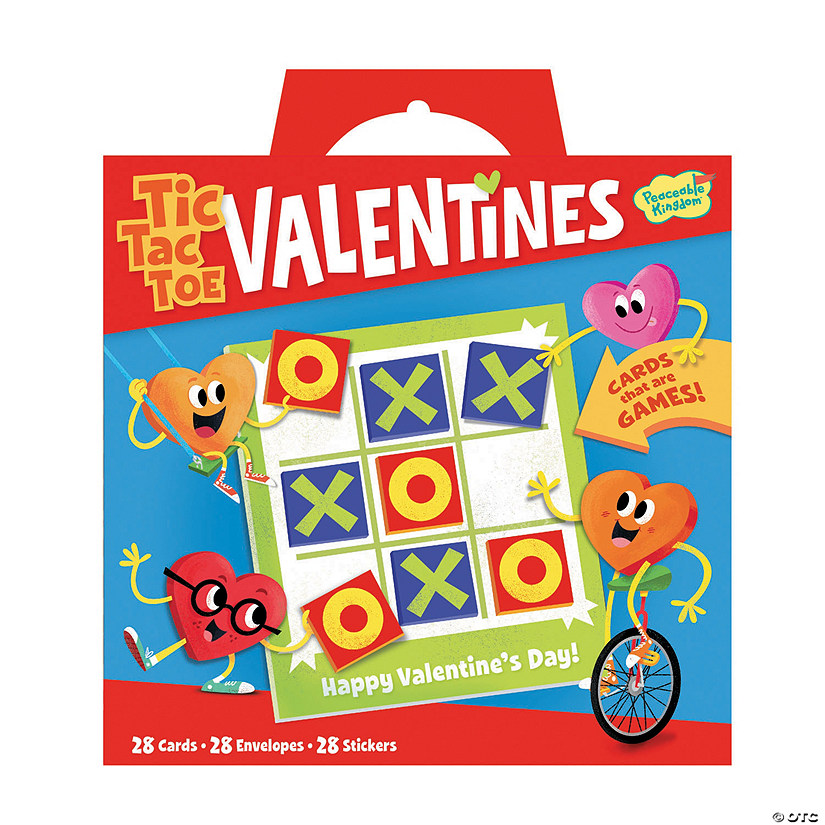 Tic Tac Toe Super Fun Valentine Pack Image Thumbnail