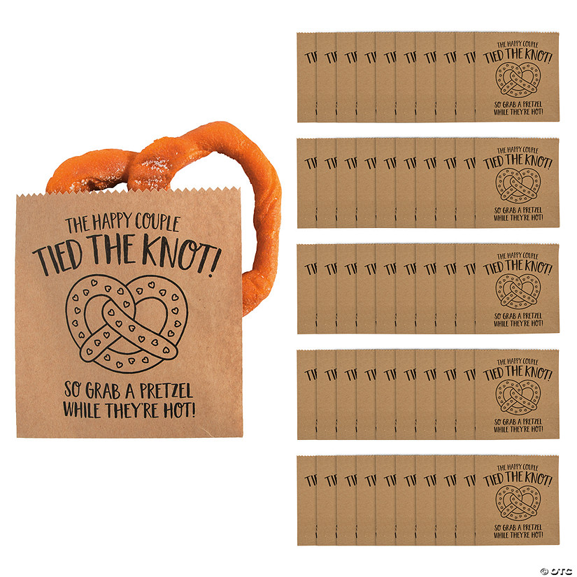Tied the Knot Pretzel Bags Audio Thumbnail