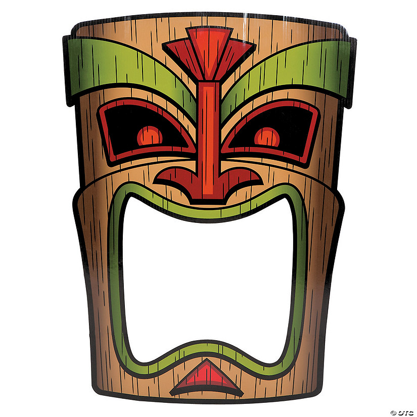 Tiki Photo Prop