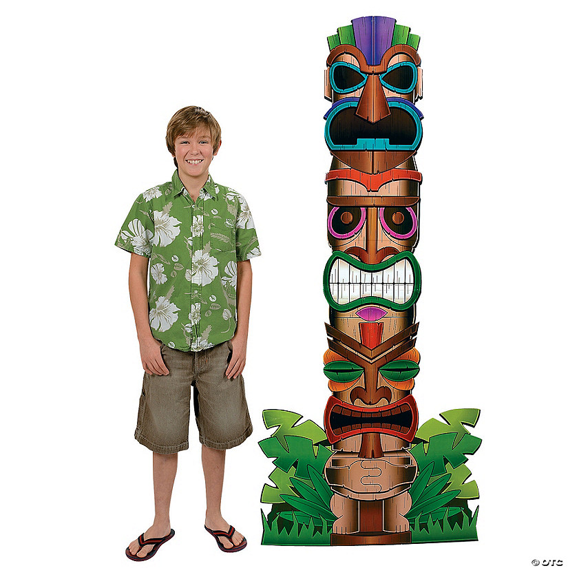 Tiki Totem Pole Cardboard Stand-Up Audio Thumbnail