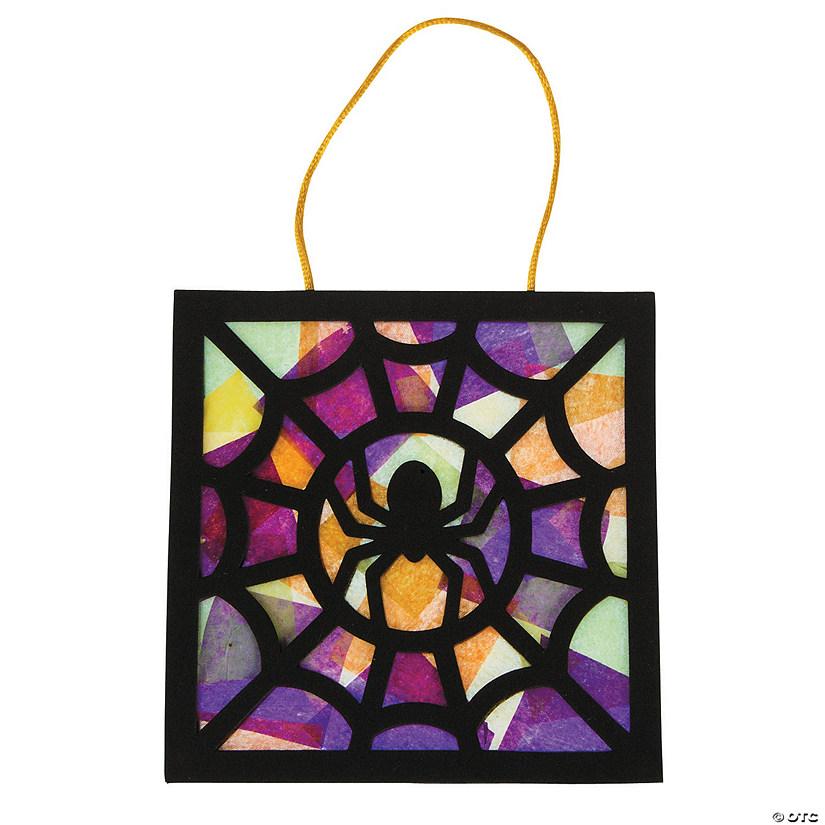 Tissue Paper Black Spider Craft Kit