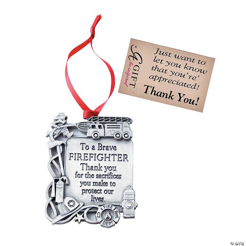 To a Brave Firefighter Ornament Audio Thumbnail