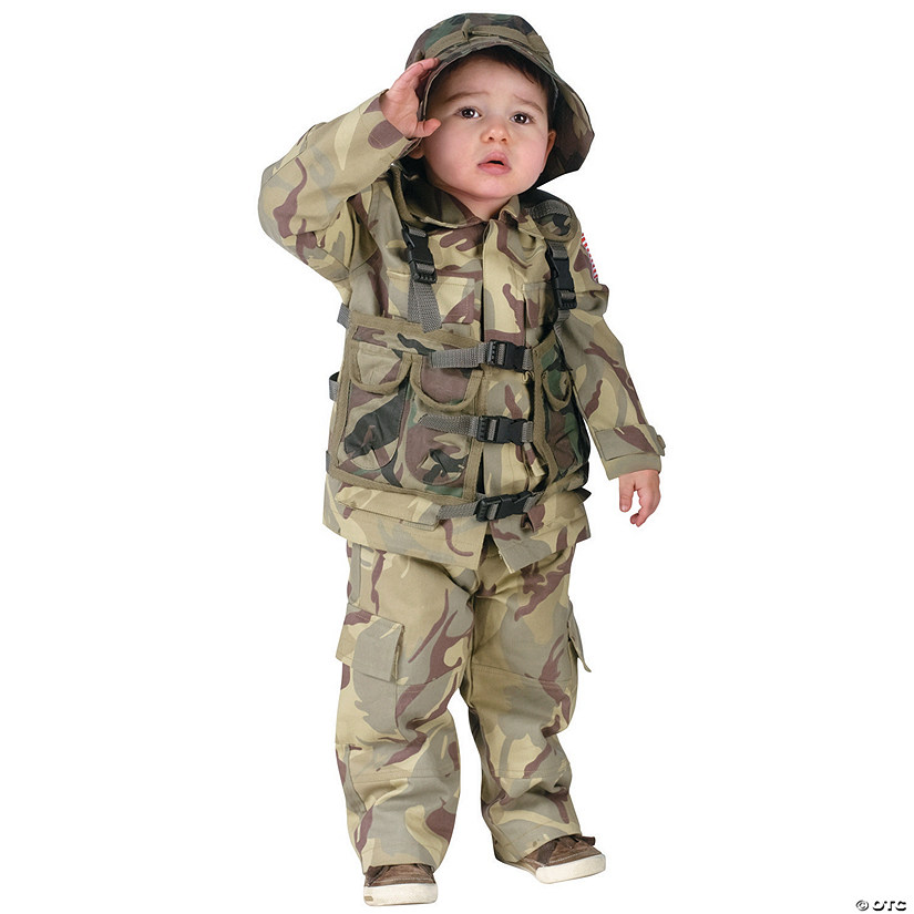 Toddler Authentic Delta Force Costume - 3T-4T Audio Thumbnail
