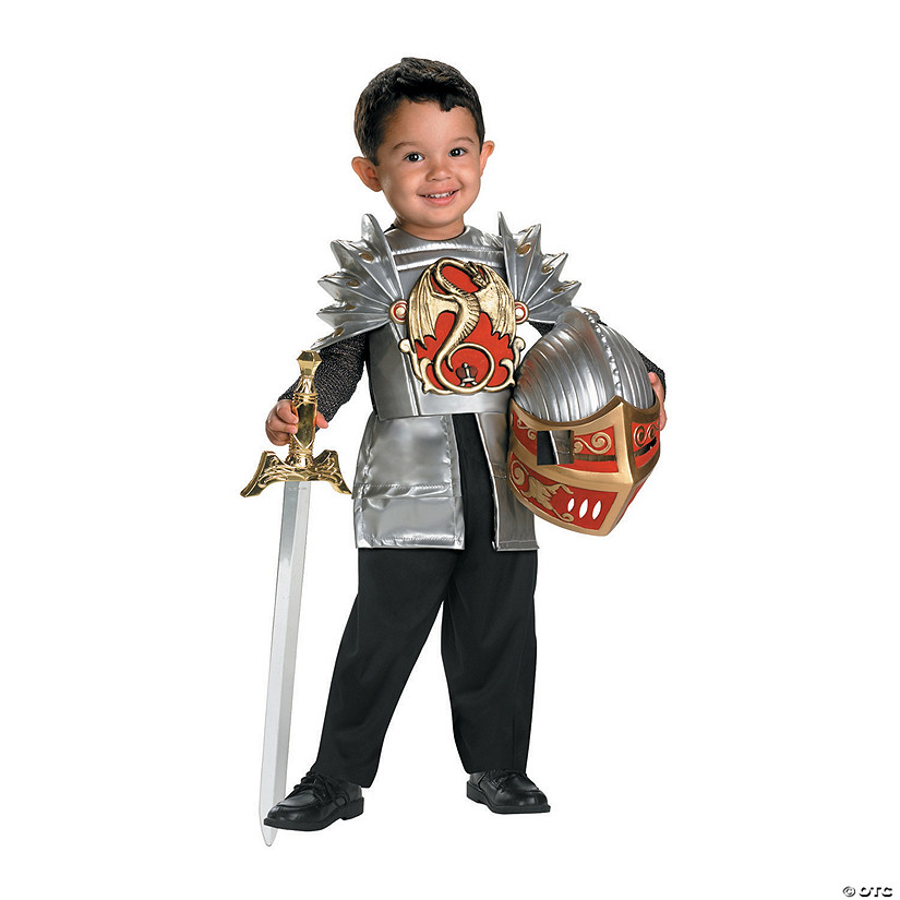 Toddler Boy's Knight Of The Dragon™ Costume Audio Thumbnail