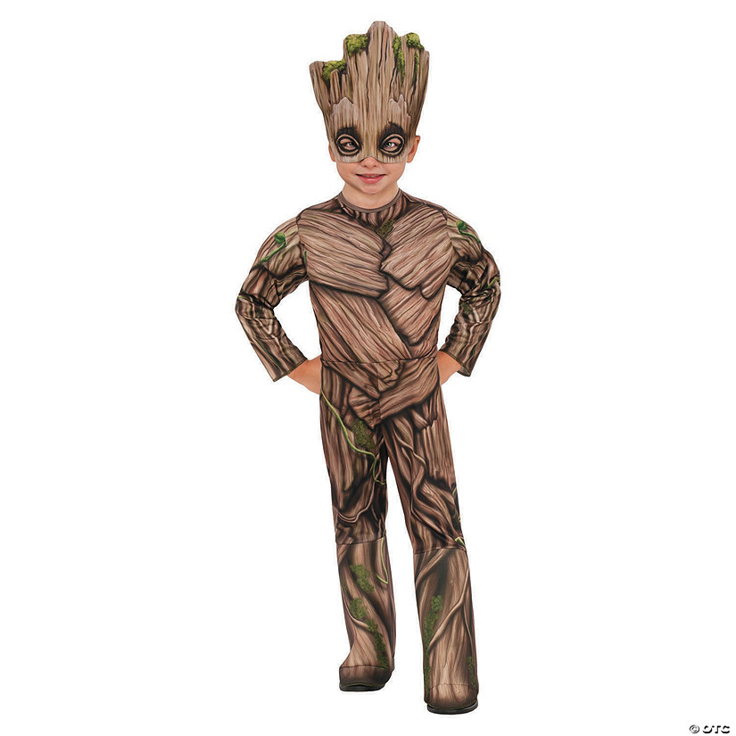 Toddler Deluxe Guardians of the Galaxy Groot Costume Audio Thumbnail