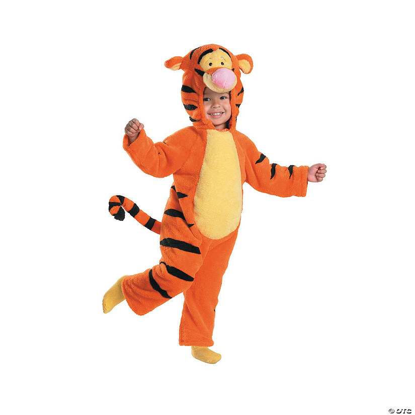 2314055563d4 Toddler Deluxe Plush Winnie the Pooh™ Tigger Costume
