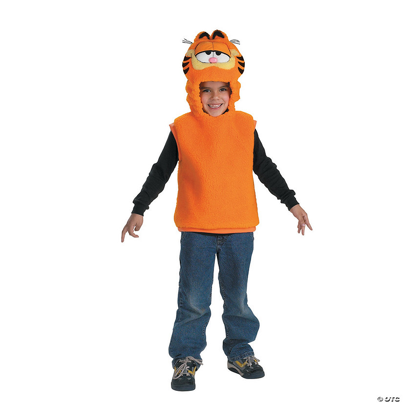Toddler Garfield™ Vest Costume Image Thumbnail