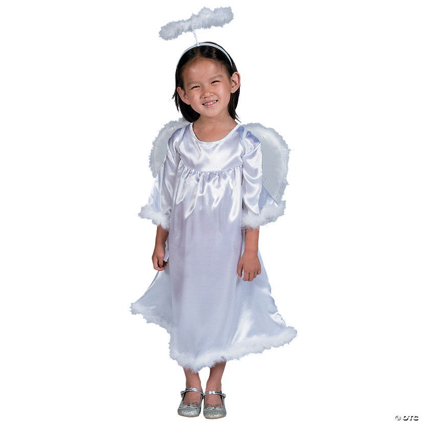 Toddler Girl's Angel Costume - 3T-4T Audio Thumbnail