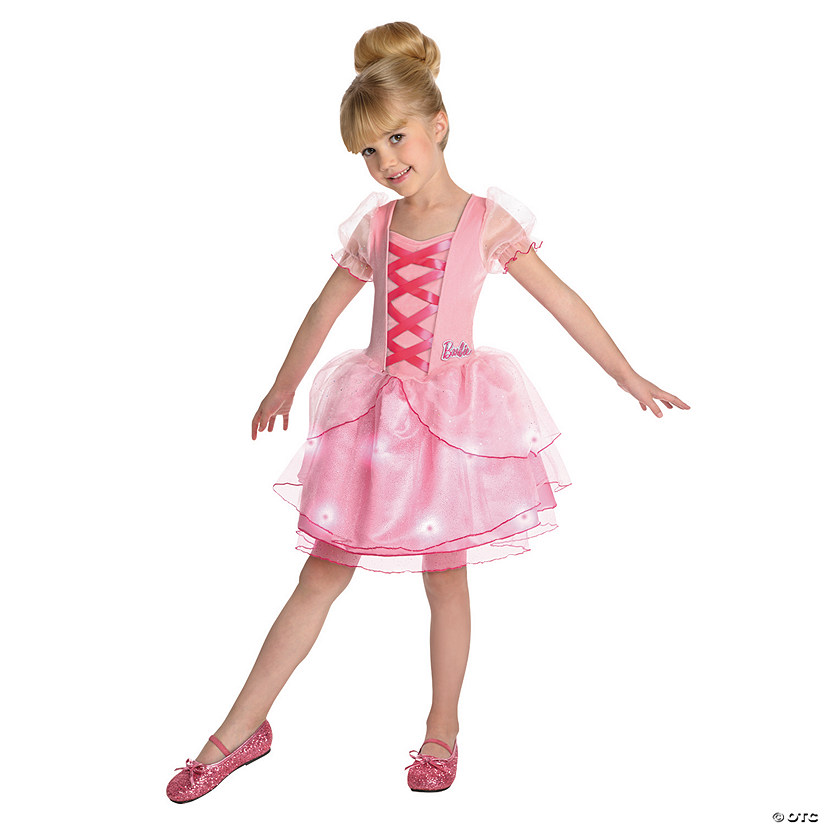 Toddler Girl's Barbie™ Ballerina Costume - 2T-4T Audio Thumbnail