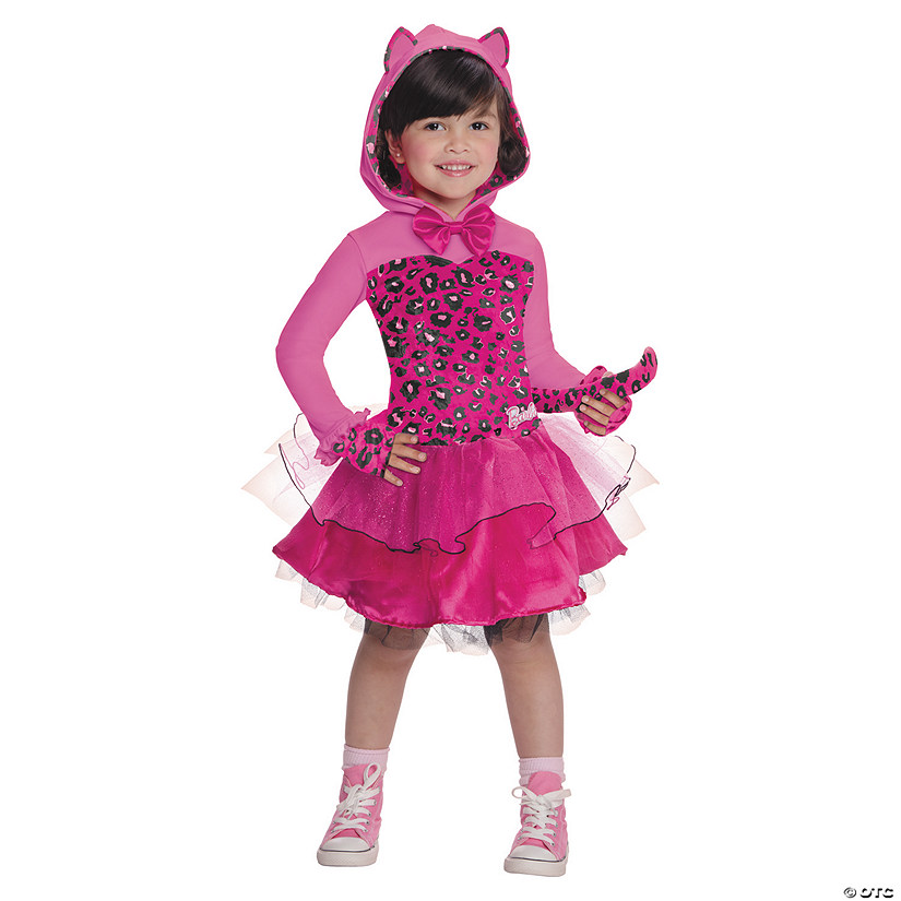 Toddler Girls Barbie Kitty Costume 2t 4t