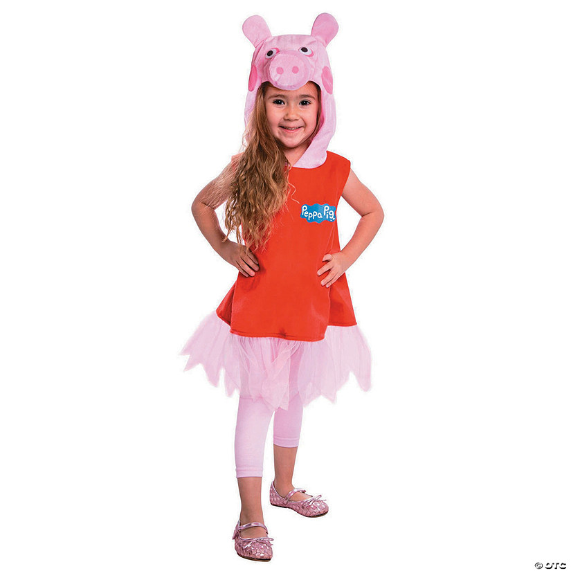 Toddler Girl's Deluxe Peppa Pig™ Costume - 2T Audio Thumbnail
