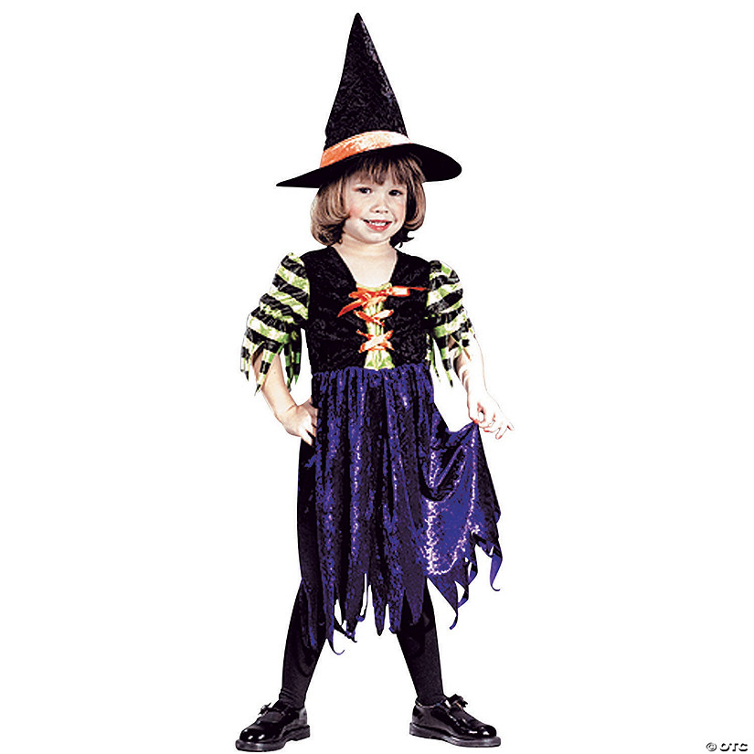 Toddler Girl's Fairy Tale Witch Costume