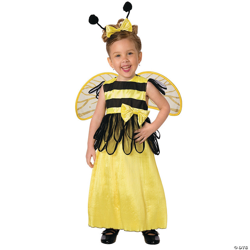 Toddler Girl's Honey Bee Costume Audio Thumbnail