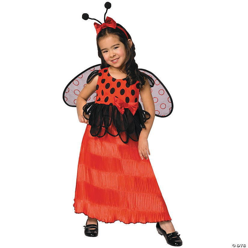 Toddler Girl's Ladybug Costume
