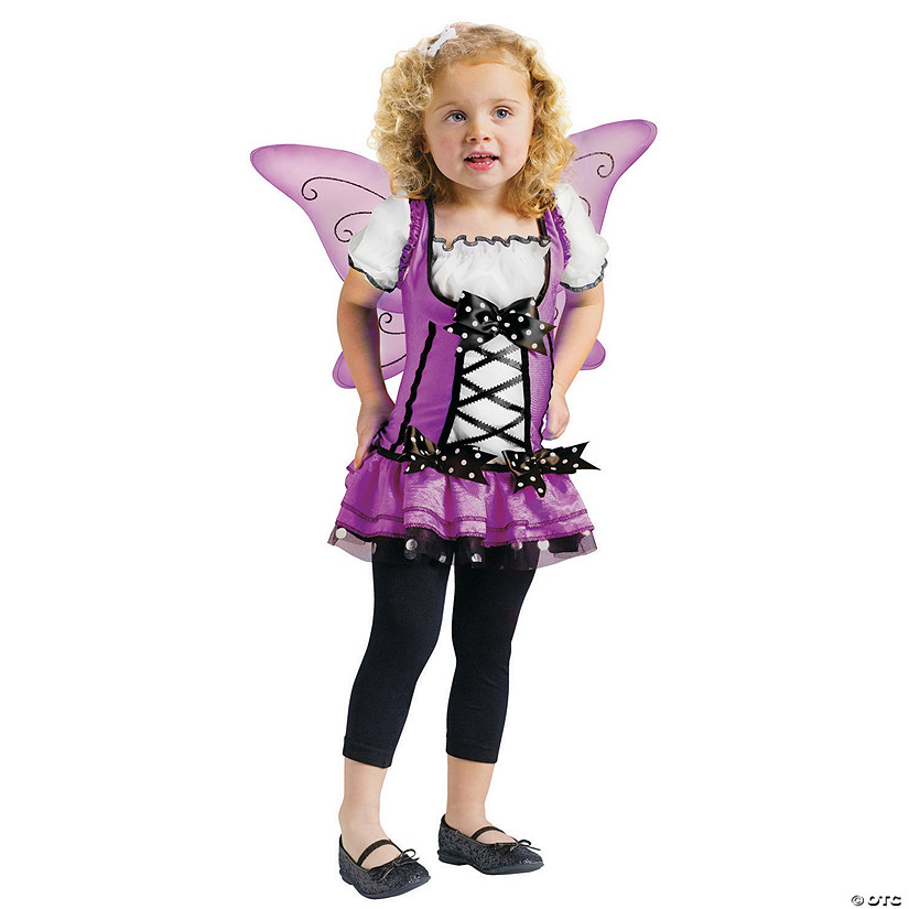 Toddler Girl's Lilac Fairy Costume Audio Thumbnail