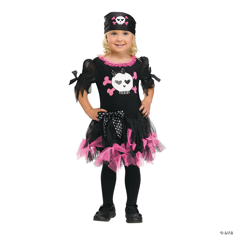 Toddler Girl's Sally Skully Costume - 3T-4T