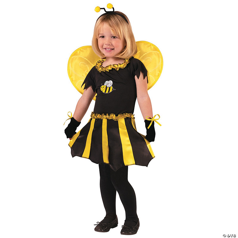Toddler Girl's Sweetheart Bee Costume - 24 Months-2T