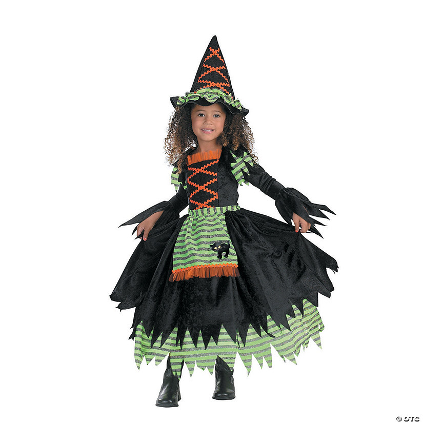 Toddler Girl's Witch Storybook Costume
