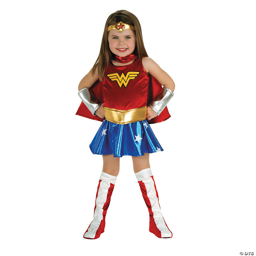 Toddler Girl's Wonder Woman™ Costume - 2T-4T Audio Thumbnail