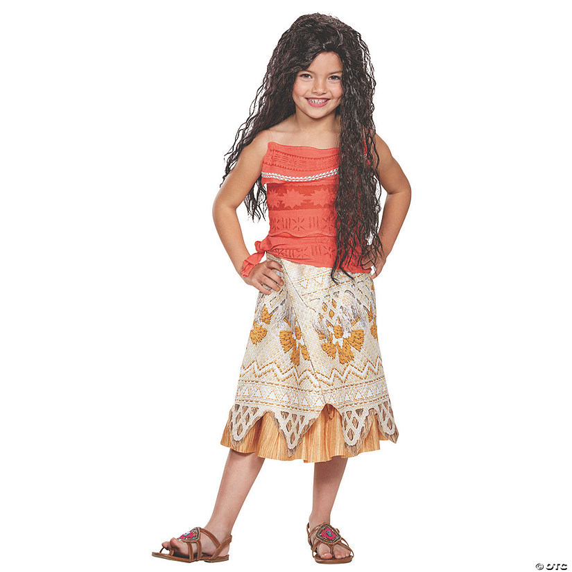 Toddler Girl's Classic Moana Costume - 3T-4T Audio Thumbnail