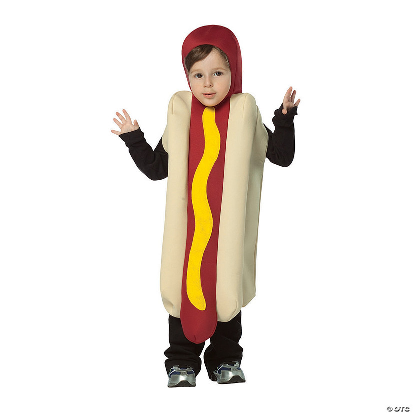 Toddler's Hot Dog Costume - 3T-4T Image Thumbnail