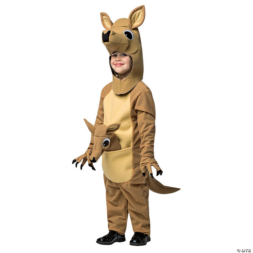 Toddler's Kangaroo Costume - 3T-4T Audio Thumbnail