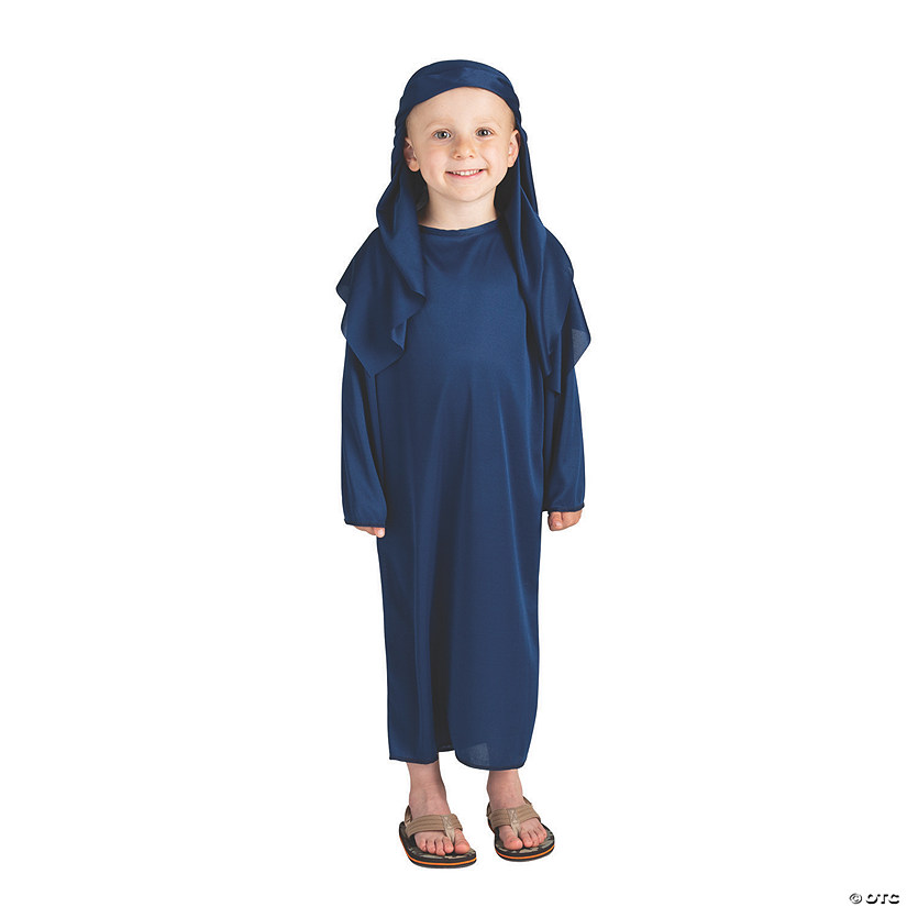 Toddler's Navy Blue Nativity Headpiece Audio Thumbnail
