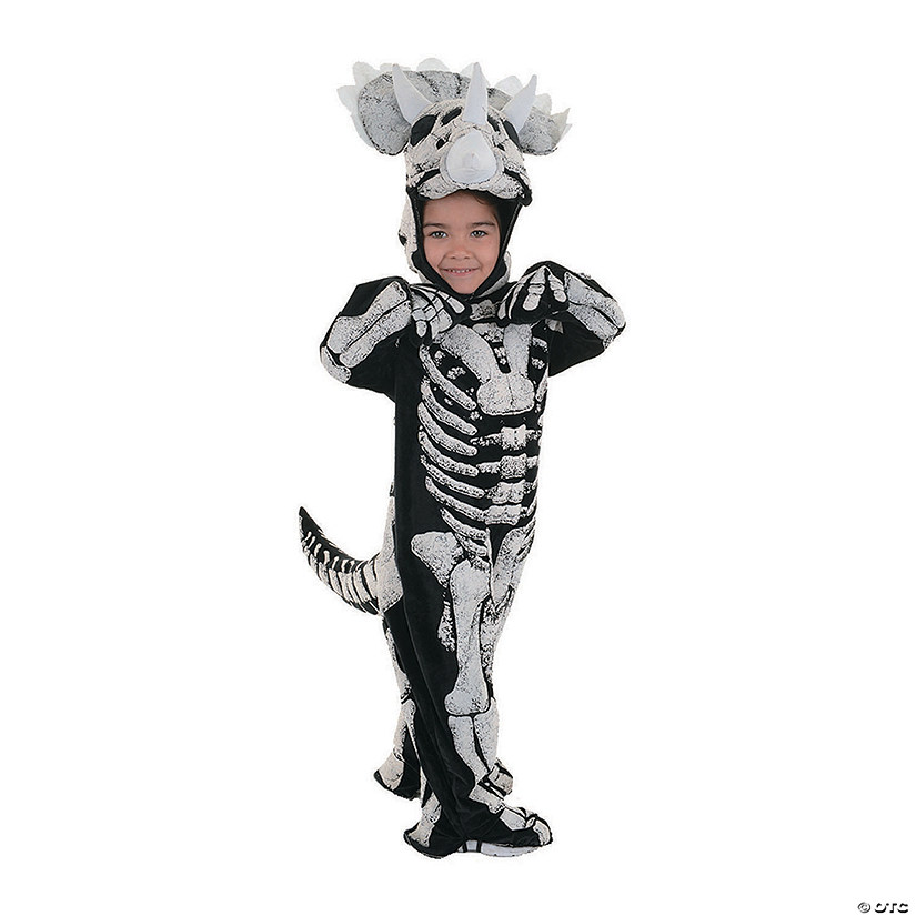 Toddler's Triceratops Halloween Costume Image Thumbnail