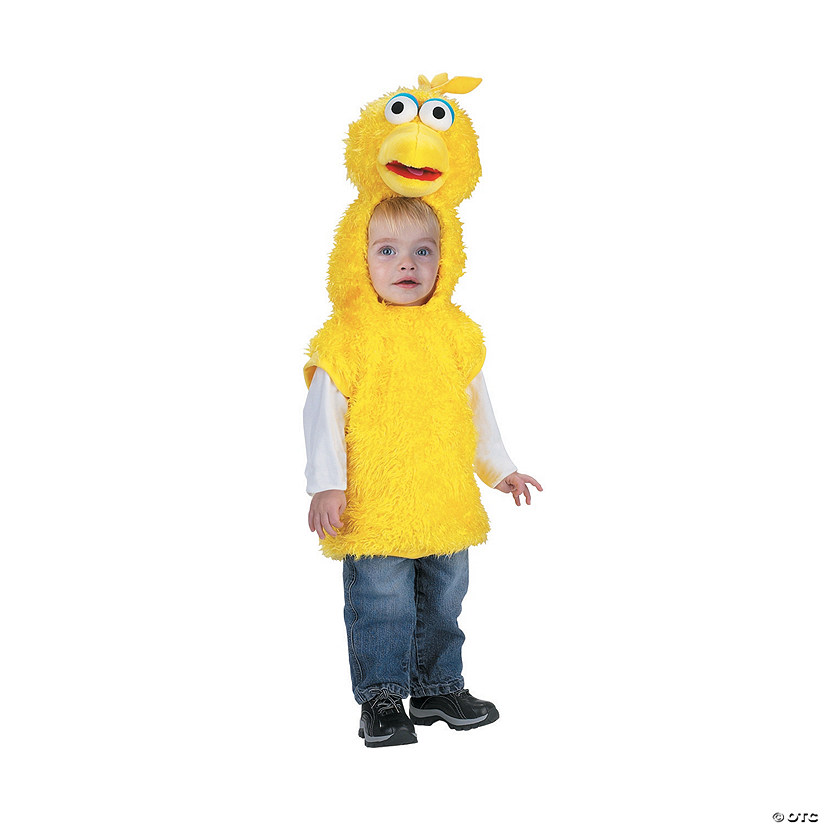 Toddler Sesame Street™ Big Bird Vest Costume Audio Thumbnail