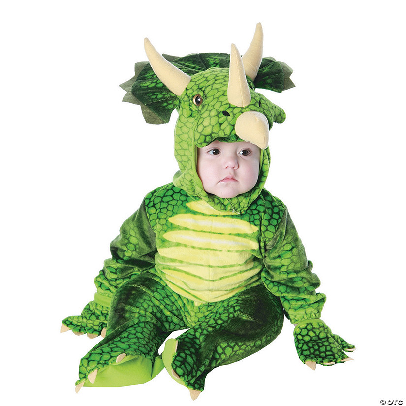 Toddler Triceratops Dinosaur Costume - 2T-4T Audio Thumbnail