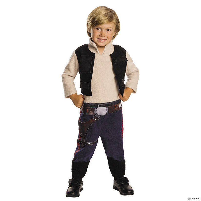 Toddler's Classic Star Wars™ Han Solo Costume Audio Thumbnail