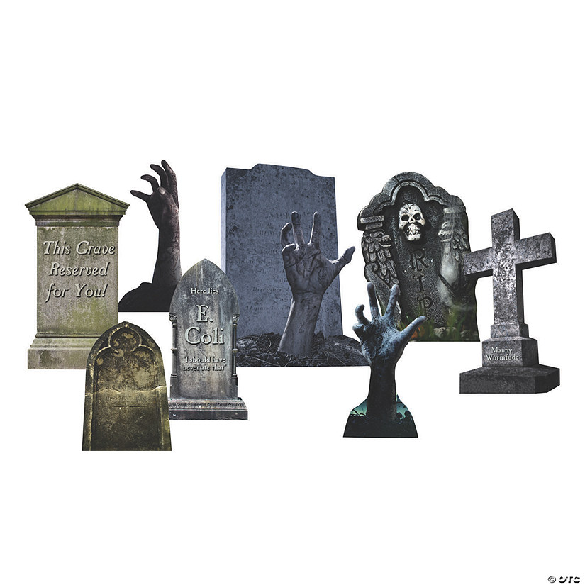 Tombstone & Zombies Yard Signs Image Thumbnail