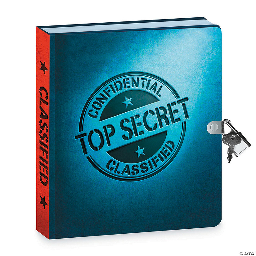 Top Secret Invisible Ink Diary