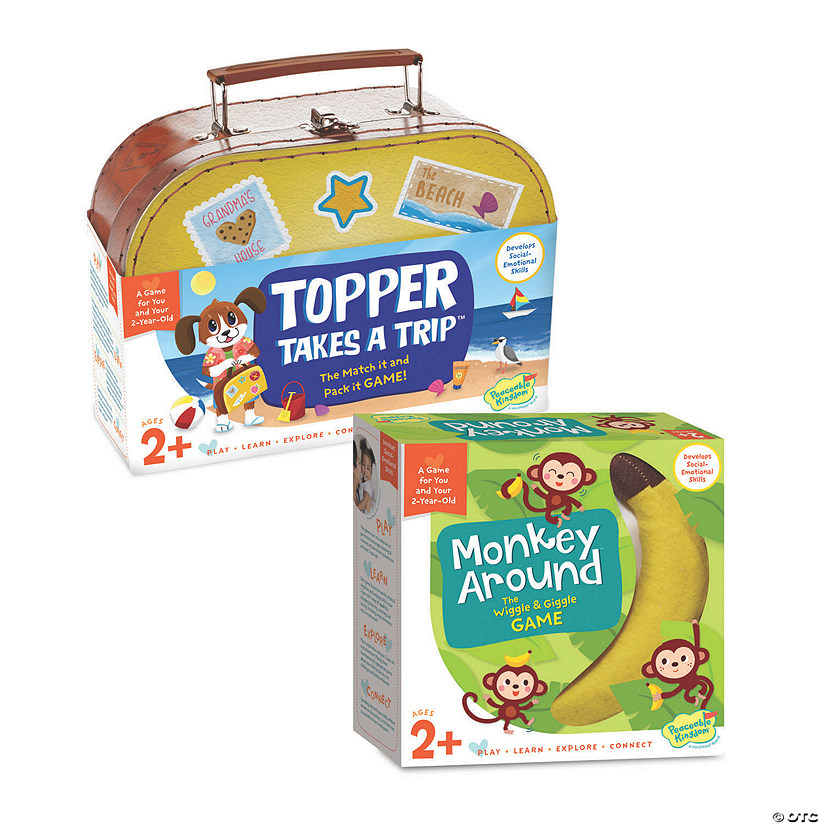 Topper Takes a Trip and Monkey Around: Set of 2 Image Thumbnail