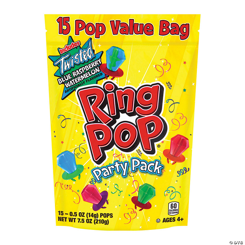 Topps Ring Pop<sup>&#174;</sup> Party Pack Audio Thumbnail