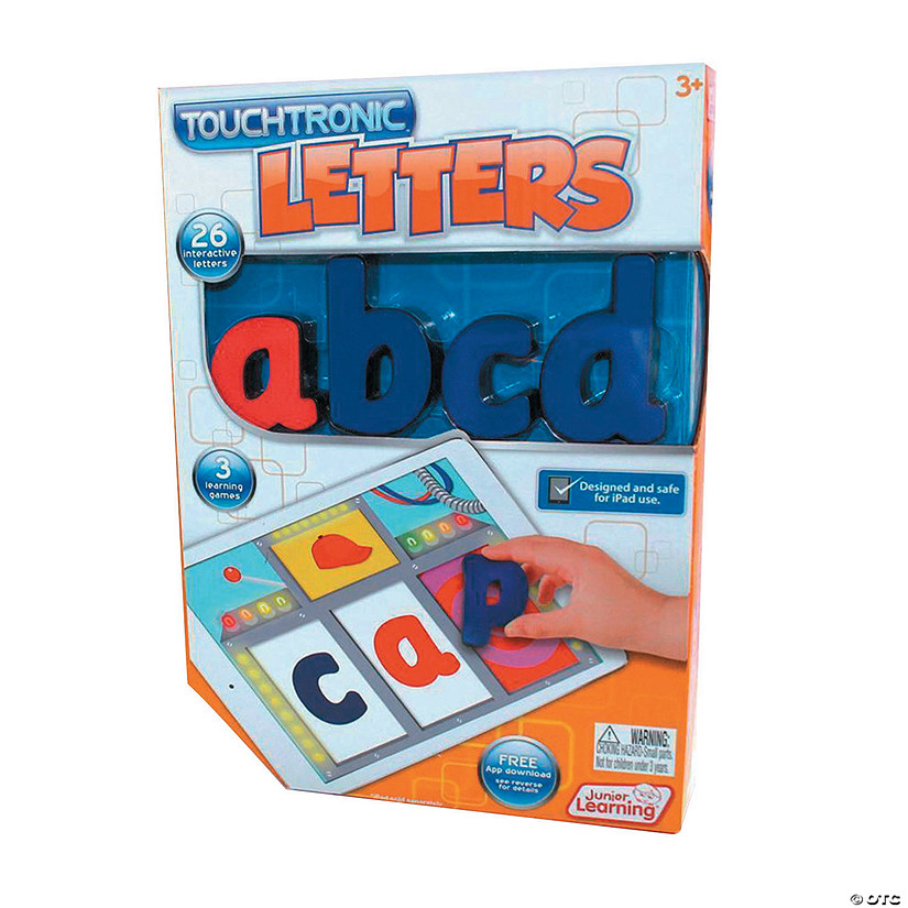 Touchtronic® Letters, 26 pieces (for iPad 2 and newer) Audio Thumbnail