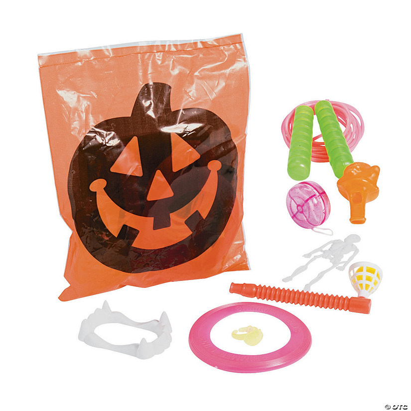 Toy-Filled Halloween Goody Bags Image Thumbnail