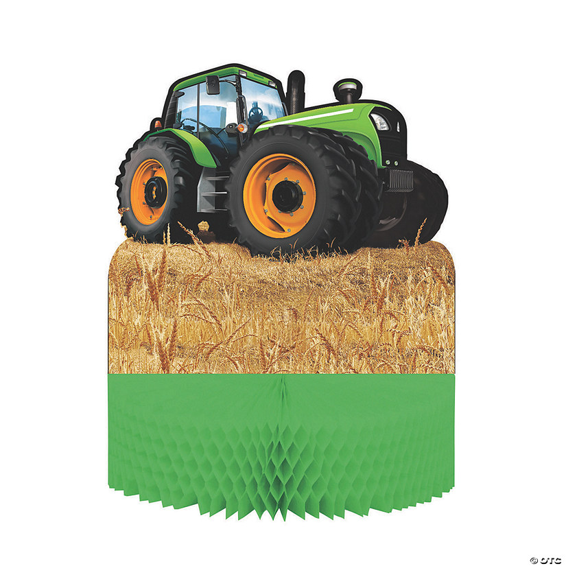 Tractor Party Honeycomb Centerpiece Audio Thumbnail