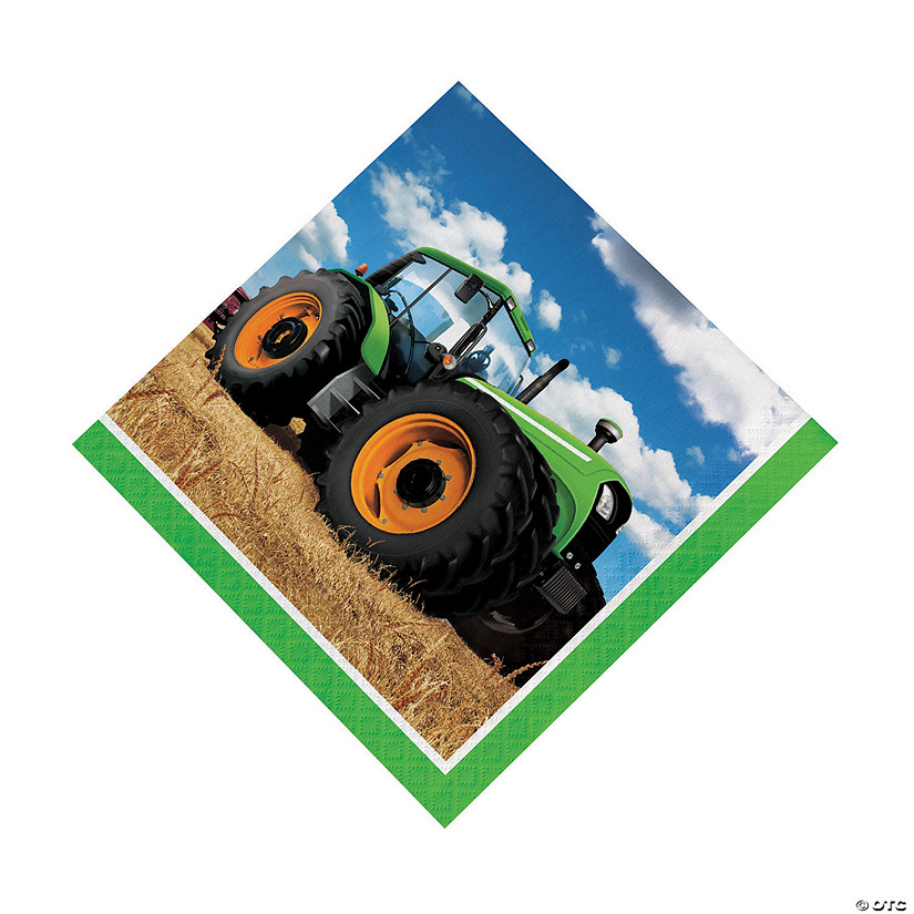 Tractor Party Luncheon Napkins Audio Thumbnail