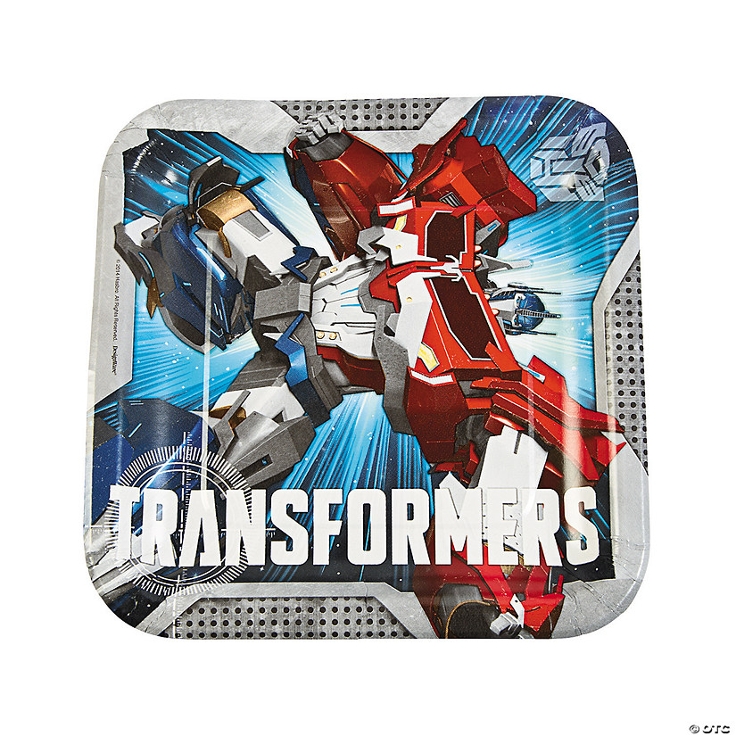 Transformers™ Paper Dinner Plates - 8 Ct. Audio Thumbnail