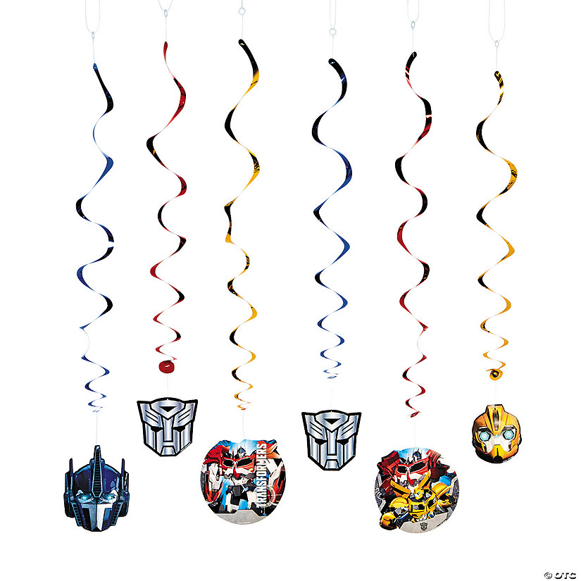 Transformers™ Swirl Decorations