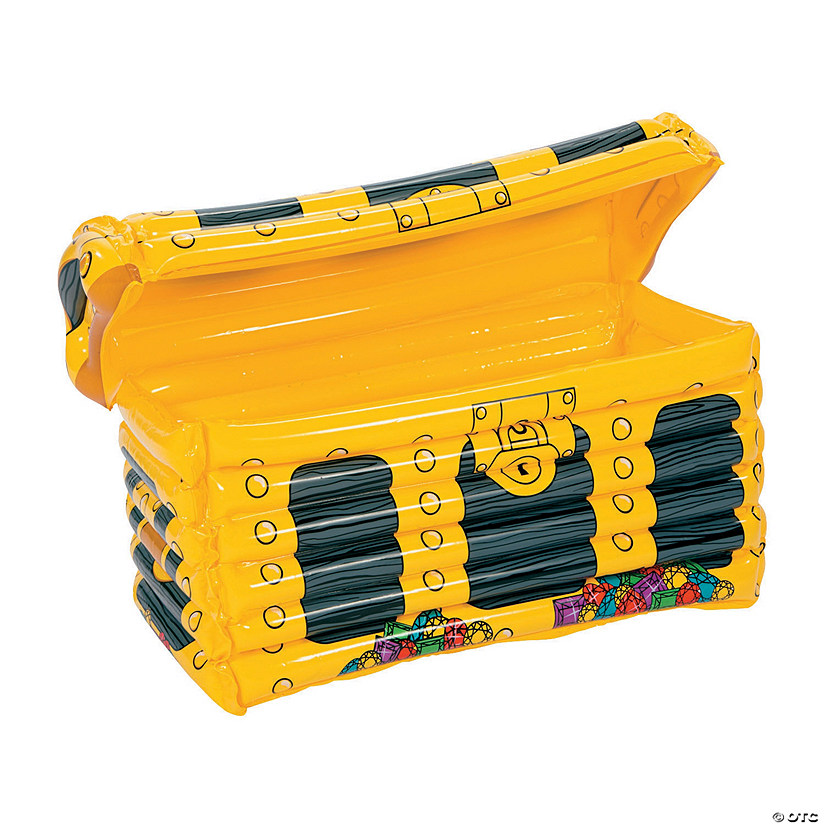 Treasure Chest Inflatable Cooler Image Thumbnail