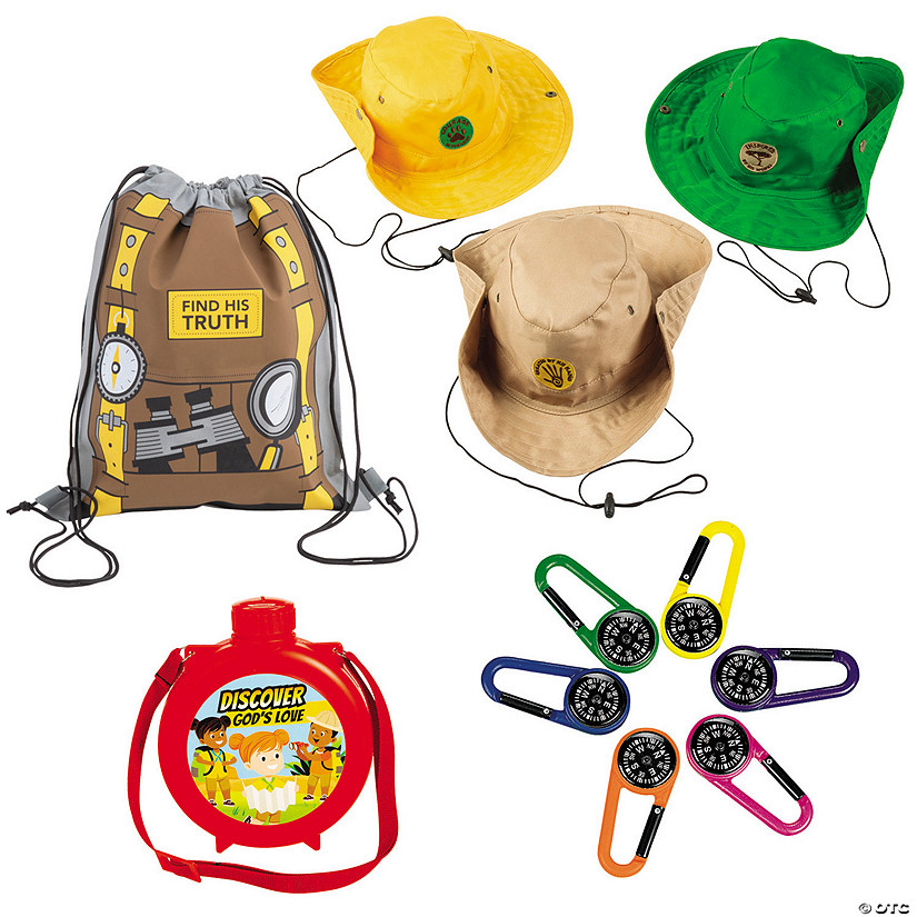 Treasure Hunt VBS Explorer Kit for 24 Image Thumbnail