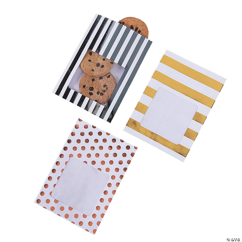 Treat Bags with a Cellophane Window Image Thumbnail
