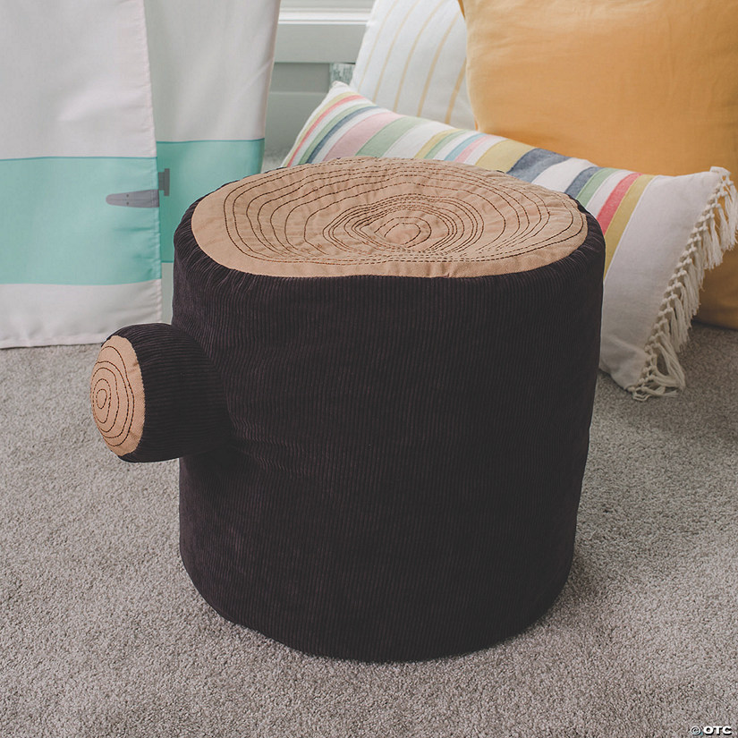 Tree Stump Pouf Image Thumbnail