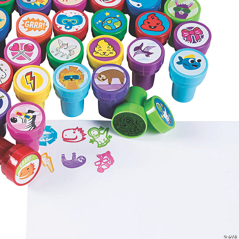 Trendy Kids' Stamper Assortment - 50 Pc. Audio Thumbnail