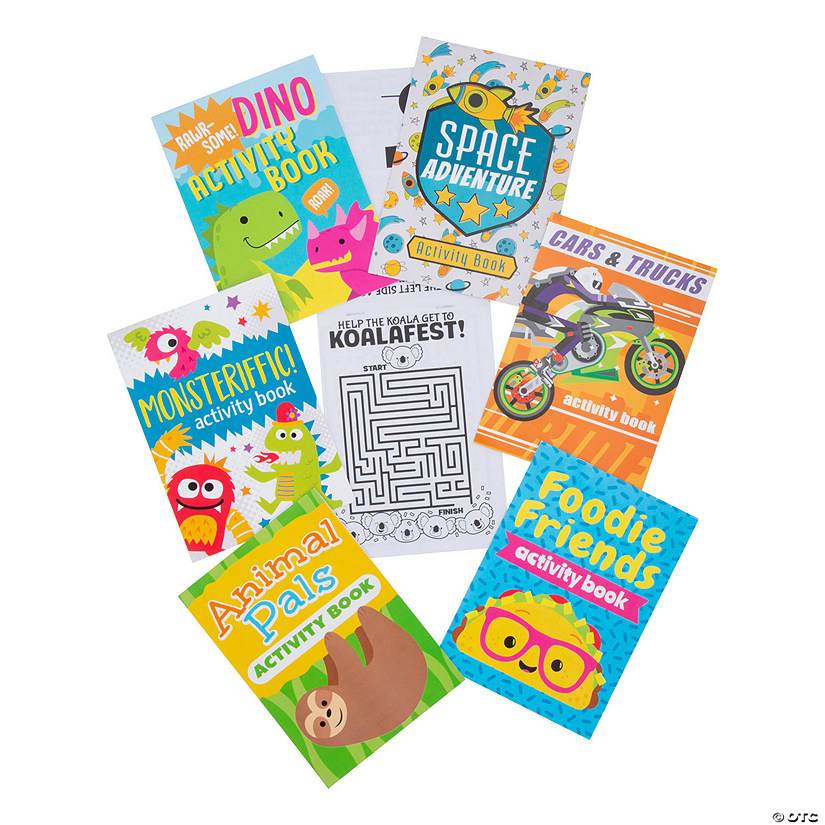 Trendy Themes Activity Books Audio Thumbnail