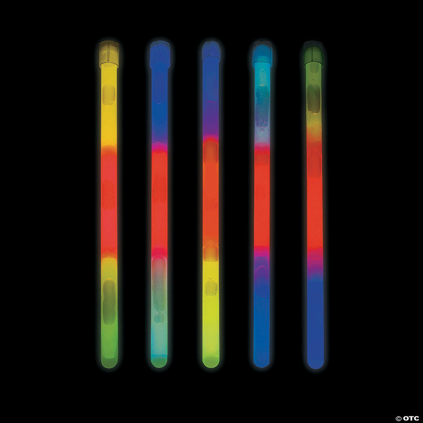 Tri-Color Glow Sticks