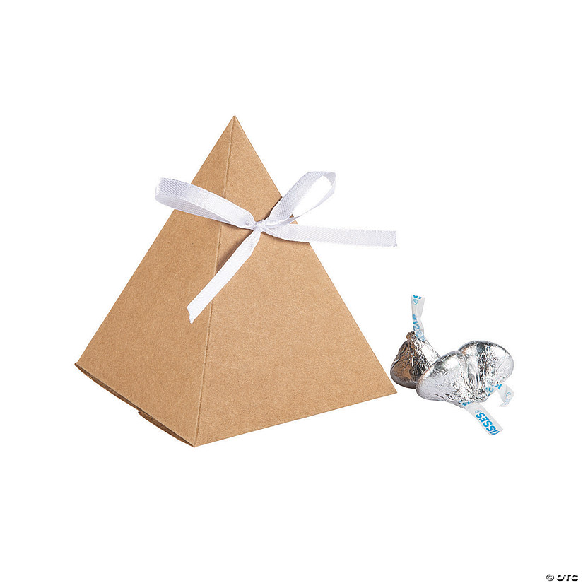 Triangle Kraft Paper Favor Boxes Audio Thumbnail