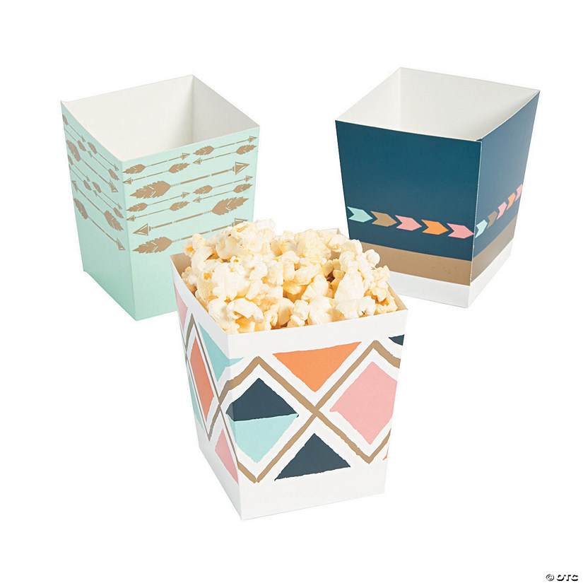 Tribal Baby Shower Popcorn Boxes Image Thumbnail